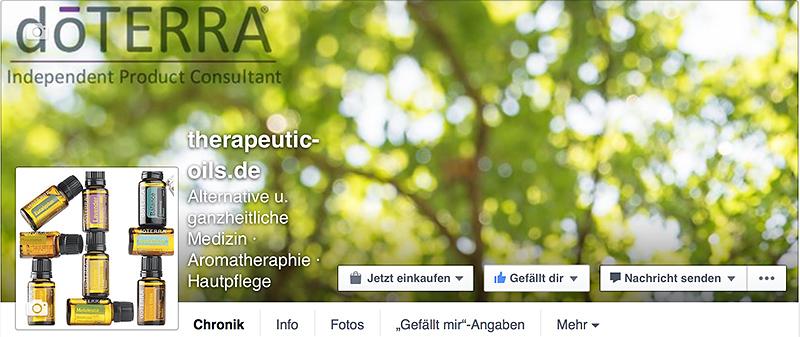 mein dōTERRA-Blog @ Facebook